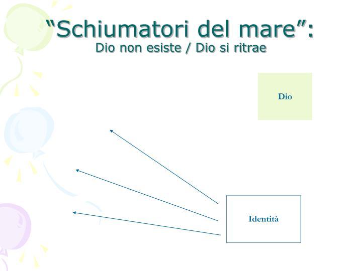 """""""Schiumatori del mare"""":"""
