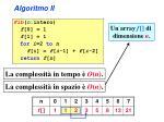 algoritmo ii