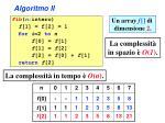 algoritmo ii3