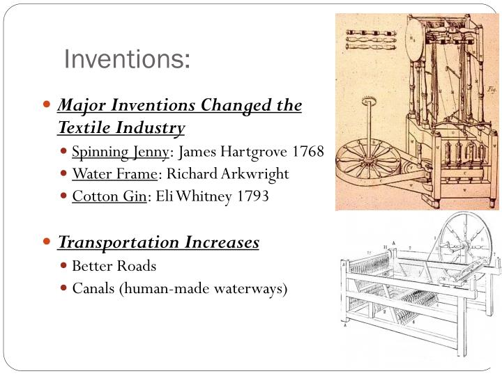 Inventions: