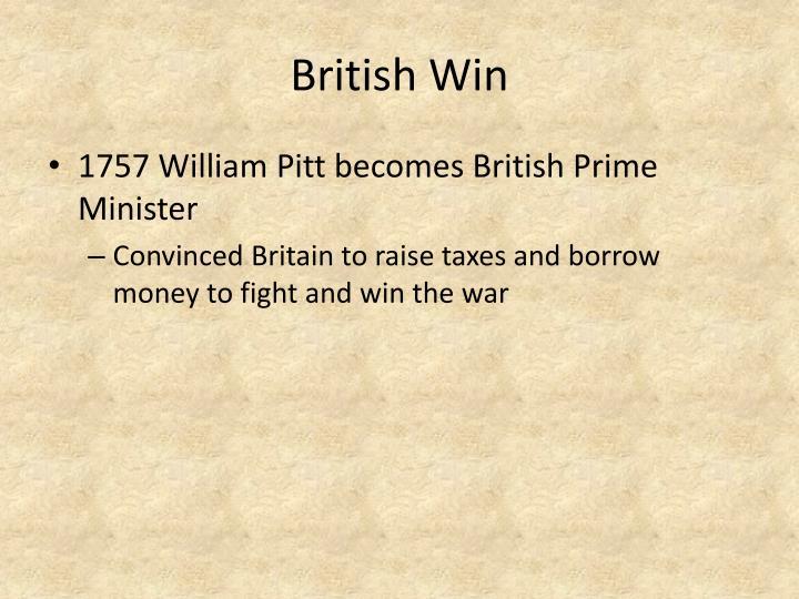 British Win