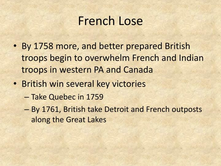 French Lose