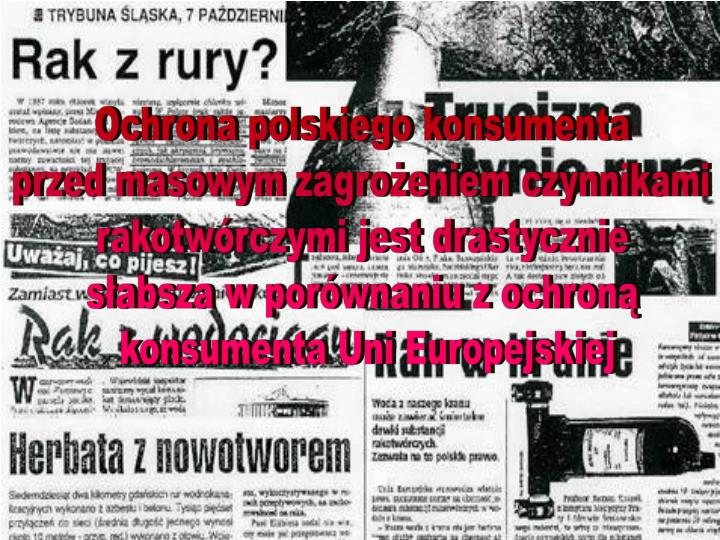 Ochrona polskiego konsumenta