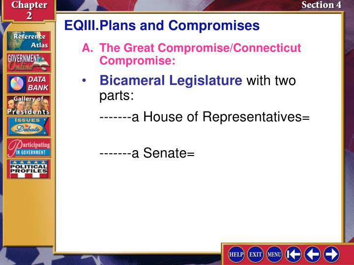 EQIII.Plans and Compromises
