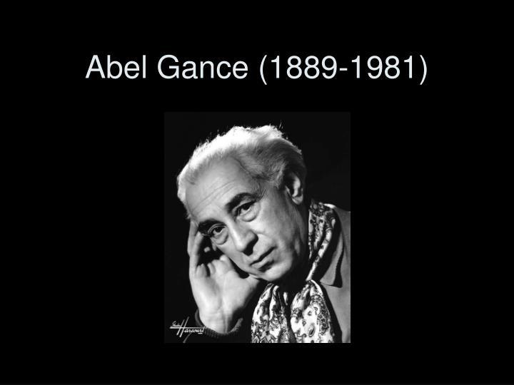Abel Gance (1889-1981)
