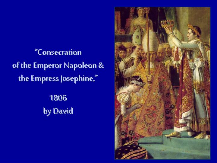 """Consecration"
