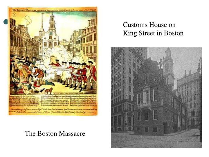 Customs House on King Street in Boston