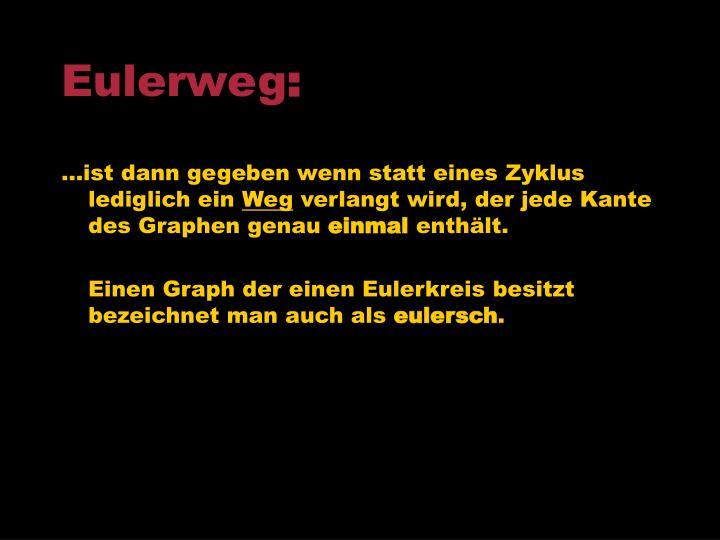 Eulerweg