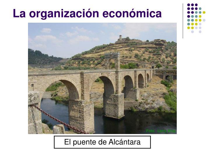 La organización económica