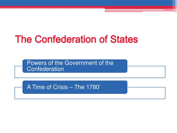 The Confederation of States
