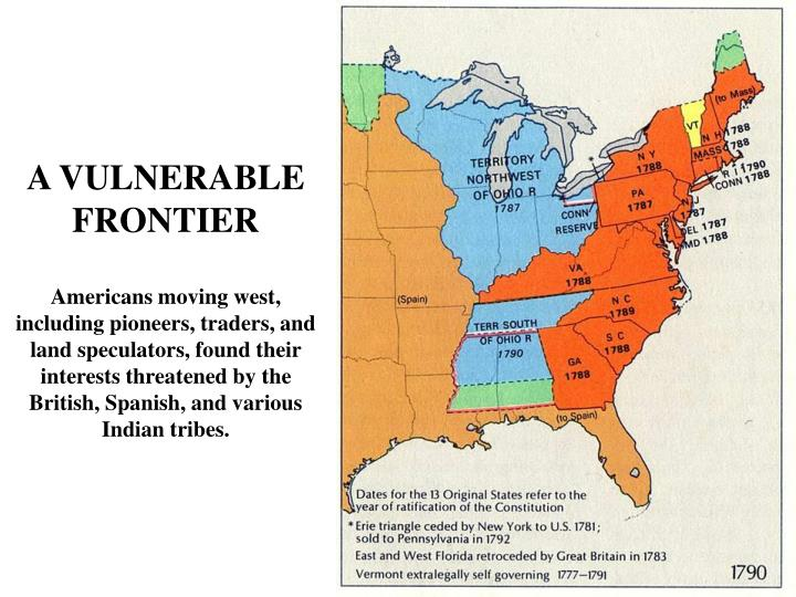 A VULNERABLE FRONTIER