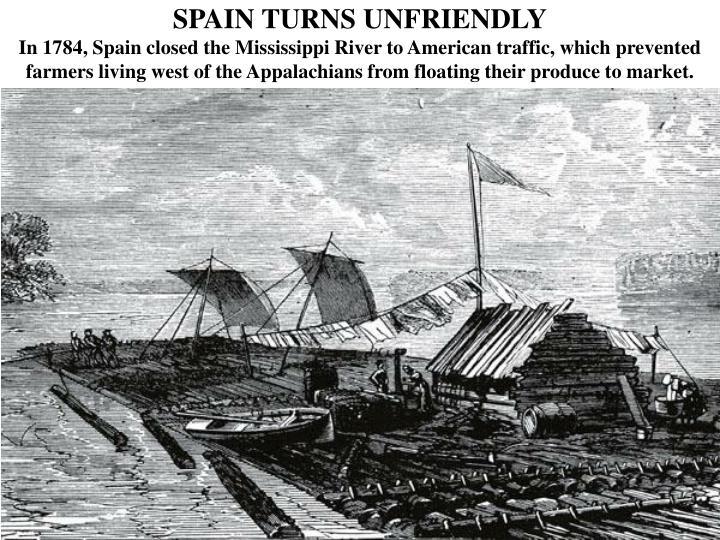 SPAIN TURNS UNFRIENDLY