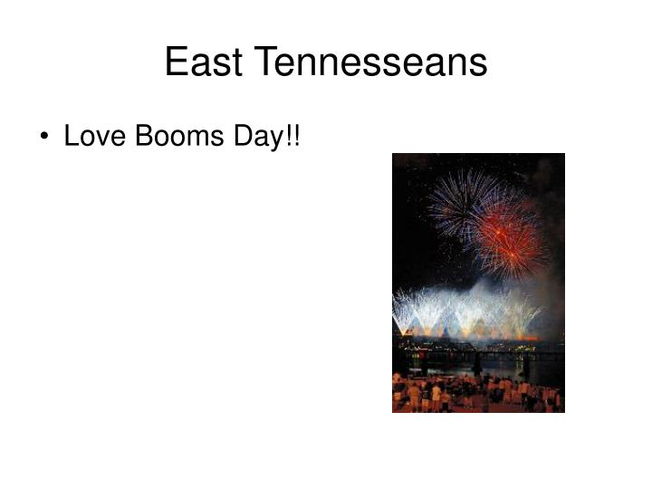 East Tennesseans