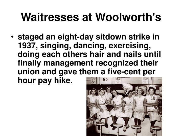 Waitresses at Woolworth's