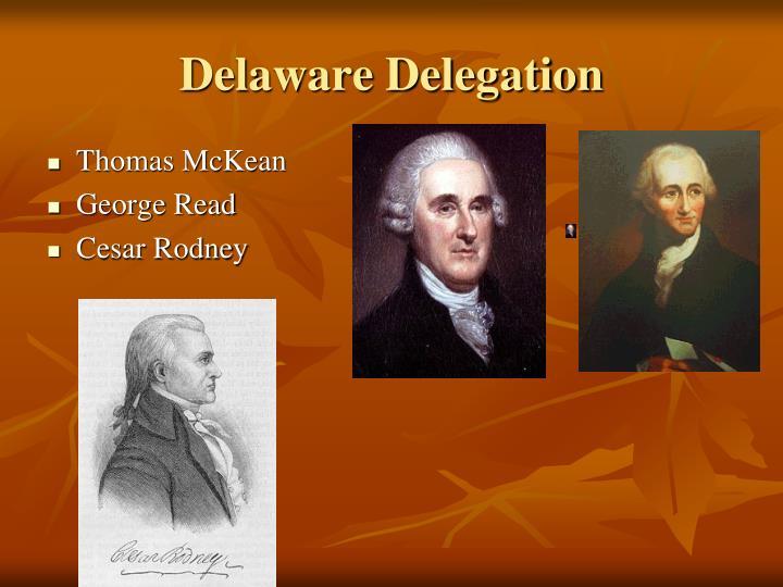 Delaware Delegation