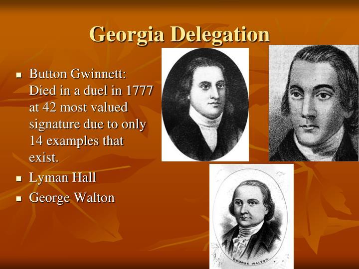 Georgia Delegation