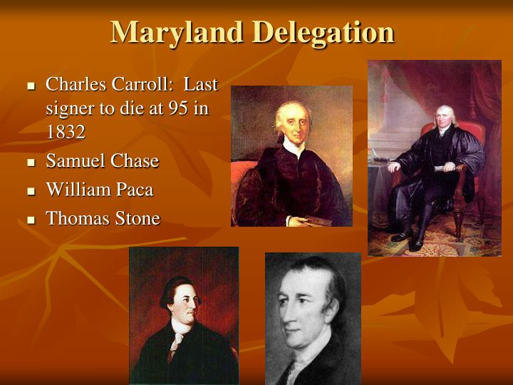 Maryland Delegation
