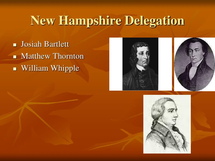New Hampshire Delegation