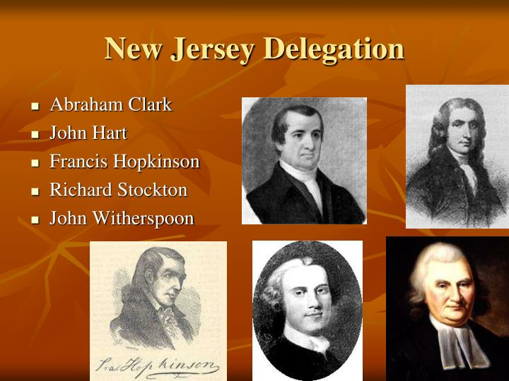 New Jersey Delegation