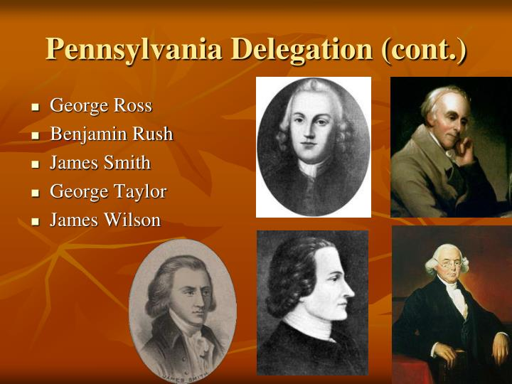 Pennsylvania Delegation (cont.)
