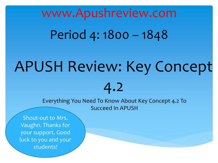 apush review key concept 4 2