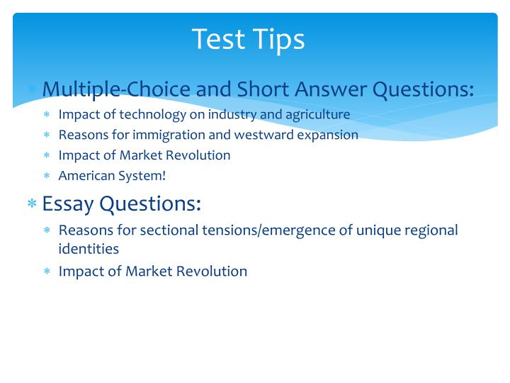 Test Tips