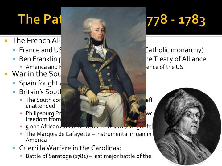 The Path to Victory, 1778 - 1783
