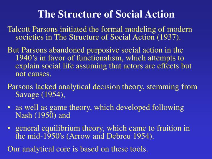 The Structure of Social Action