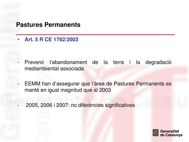 Pastures Permanents