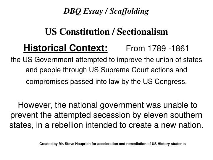 essay questions about the us constitution
