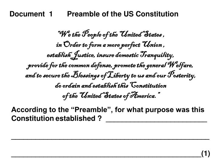 role of the us constitution essay They are words most of us are familiar why the constitution is important the federalist papers serve as a public defense of the principles enshrined in the.