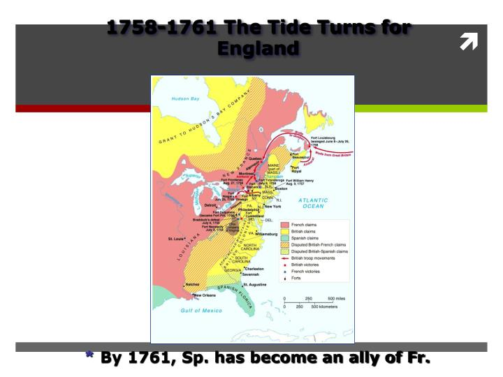 1758-1761 The Tide Turns for England