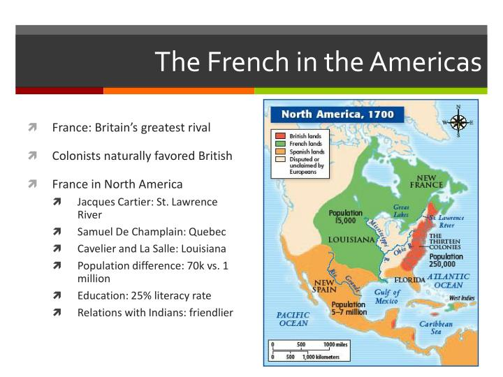 The French in the Americas