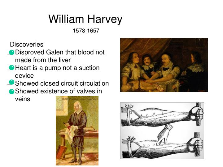 William Harvey and his impact on society