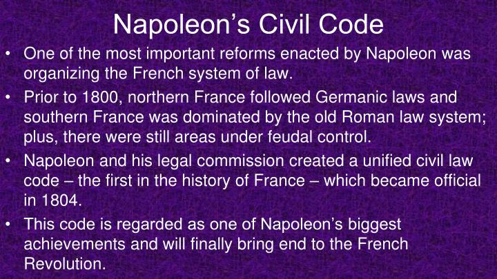 Napoleon's Civil Code