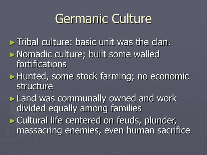 Germanic Culture