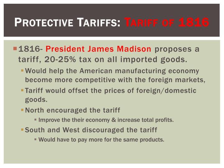 Protective Tariffs:
