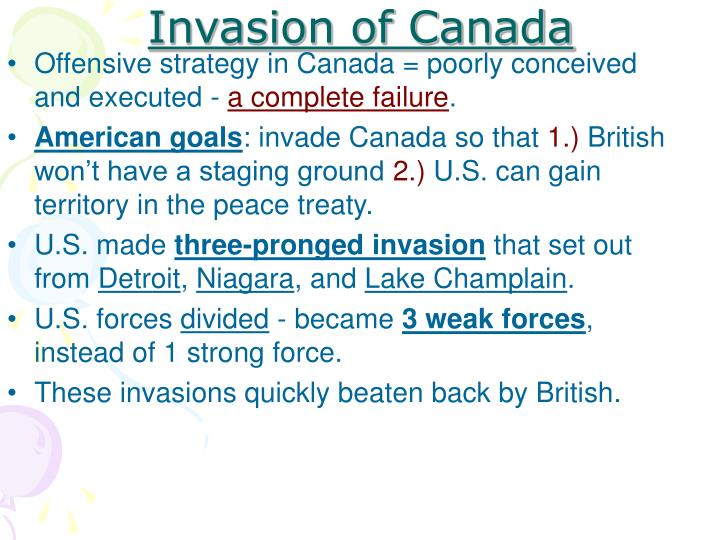 Invasion of Canada