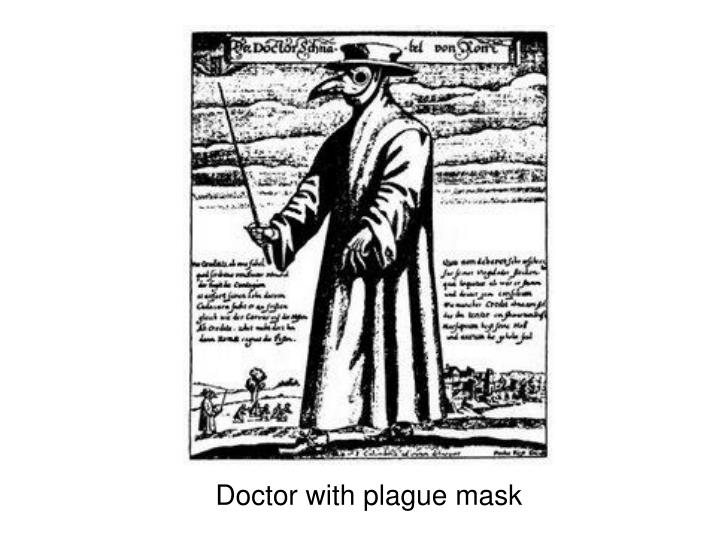Doctor with plague mask