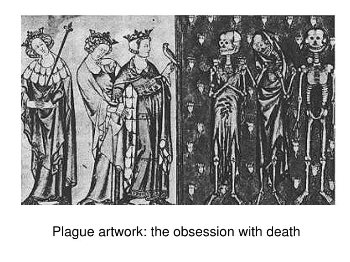 Plague artwork: the obsession with death