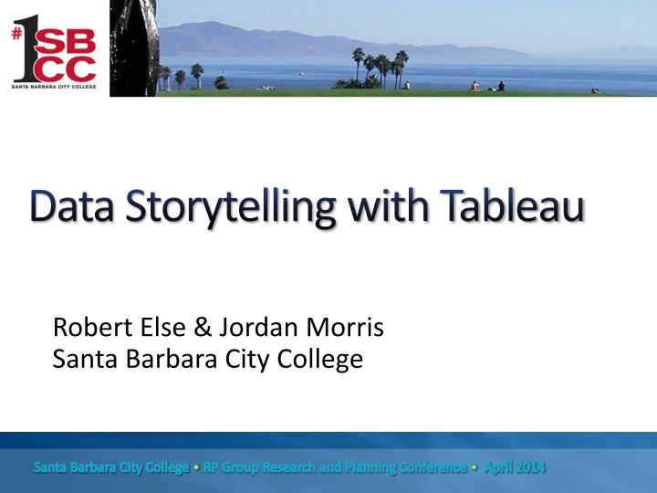 Data Storytelling with Tableau