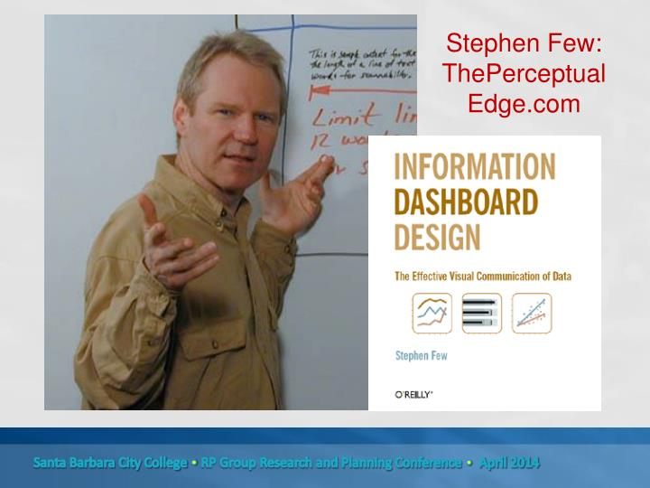 Stephen Few: ThePerceptual Edge.com