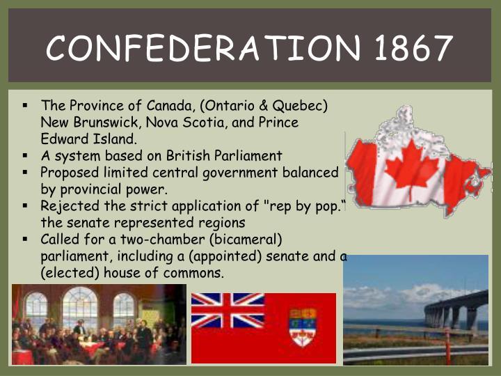 Confederation 1867