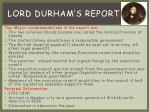 lord durham s report