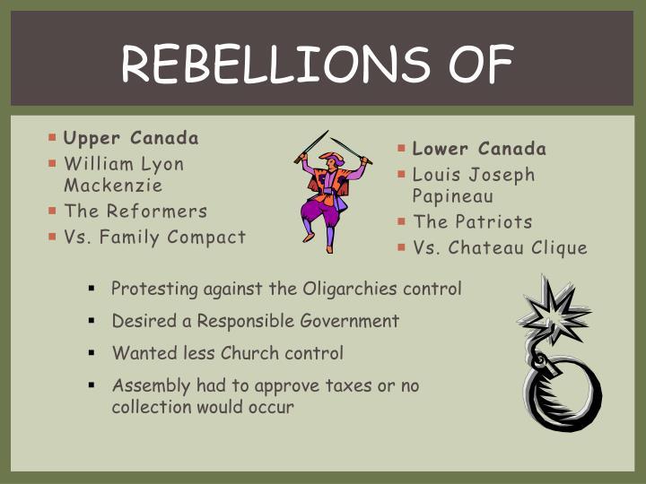 REBELLIONS OF