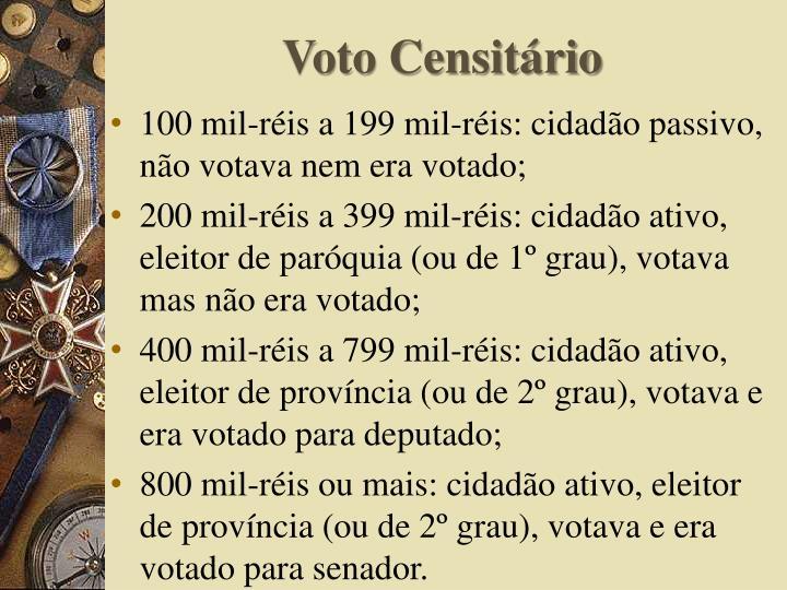 Voto Censitário