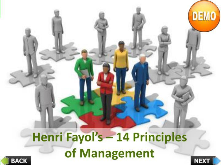 fayols fourteen principle of management