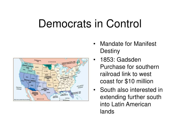 Democrats in Control