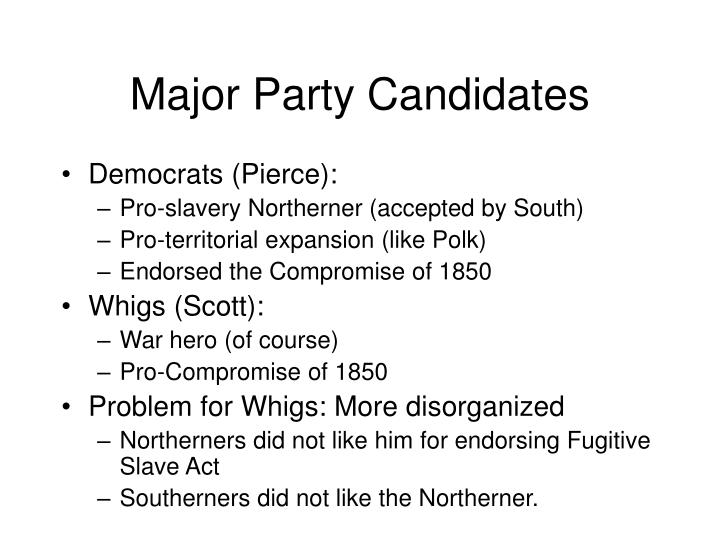 Major Party Candidates
