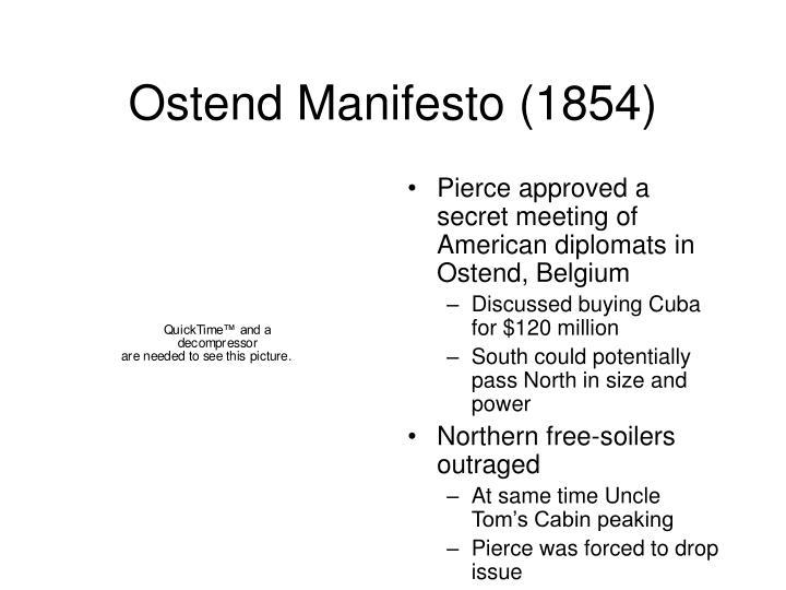 Ostend Manifesto (1854)